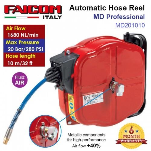 Dây hơi rút Automatic Hose Reel MD201010 FAICOM ITALY