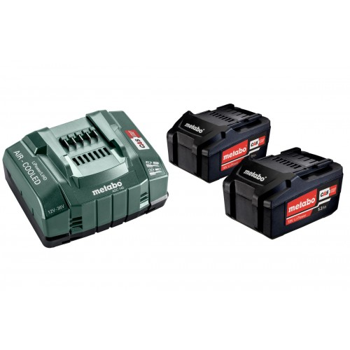 Bộ 2 Pin Lion 5.2 Ah METABO BASIC SET 2 X 5.2 AH (5.2 Ah)
