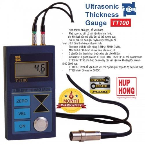 Máy Đo Độ Dày Bằng Siêu Âm - TT100/110/120/130 Ultrasonic Thickness Gauge