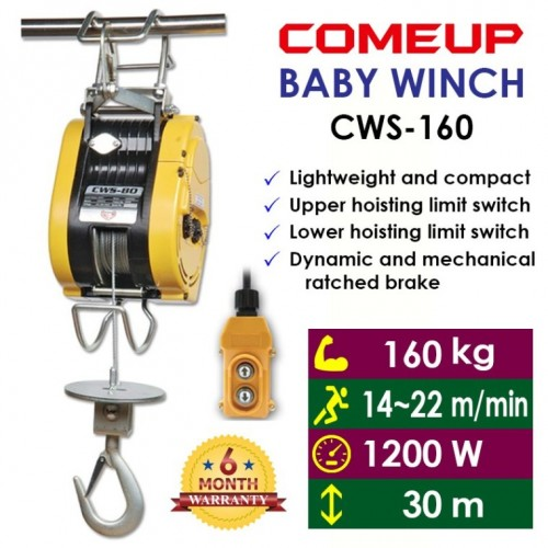 Tời BABY WIND COMEUP CWS-160 0