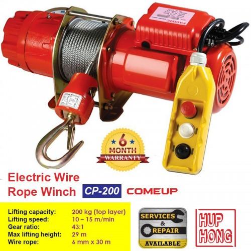 Tời dây điện CP-200 COME UP
