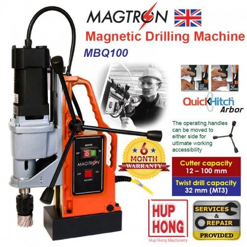 MÁY KHOAN TỪ Magnetic Drilling Machine MBQ100