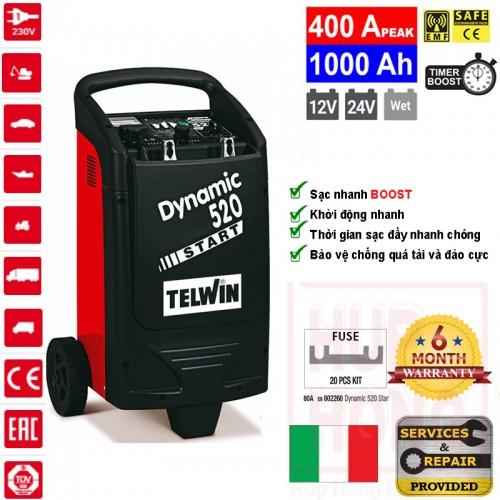 Bộ Sạc Bình Ác Quy DYNAMIC 520 START - Telwin
