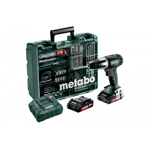 MÁY KHOAN METABO DÙNG PIN - SB 18 LT SET (MOBILE WORKSHOP) 0